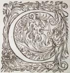 Letter C 1583